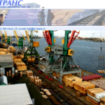 Перевалка грузов в портах Каспийского моря: Энзели (Анзели Бендер-Энзели, Иран) и в российских портах Оля, Махачкала.