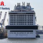 Гамбургский порт, крупнейший морской порт Германии, обрабатывает все виды грузов.