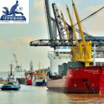 Услуги оперирования судами, агентирования в портах Черного и Азовского морей, экспедирования грузов.