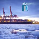 Услуги по обслуживанию грузов в морском терминале.