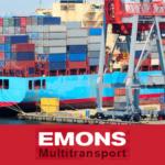 Таможенное бюро «Эмонс Мультитранспорт» оказывает услуги по внутрипортовому экспедированию грузов, следующих в Порт Санкт-Петербург автомобилями по линиям РО-РО. Также осуществляется внутрипортовое экспедирование контейнеров, прибывающих морскими судами в Порт Санкт-Петербург.