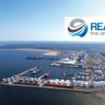 Мощности грузовых терминалов на территории порта Мууга в Эстонии.