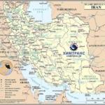 Морские перевозки на Каспийском море и в Персидском заливе.