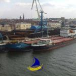 Перевалка в порту Астрахани, ж/д и морская перевозка.