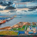 Морской торговый порт Усть-Луга.