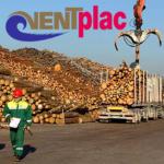 """ООО """"Ventplac"""" – действующее в свободном порту Вентспилса предприятие по перевалке грузов, специализирующееся на перевалке и хранении."""