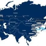 Предложите оптимальный маршрут доставки контейнера из Ирана в Омск.