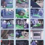 Портативные станки 1АК200 для обточки колесных пар вагонов и локомотивов