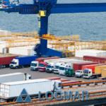 Международные интермодальные перевозки контейнерных грузов через порты Санкт-Петербург, Новороссийск, Владивосток, Котка, Хельсинки, Хамина, Рига, Таллинн, Клайпеда.