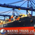 Морские контейнерные перевозки из Одессы.