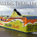 Паром Хельсинки - Таллинн в одном направлении или туда-обратно .