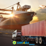 Международные контейнерные перевозки зерновых.
