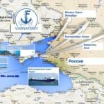 Морские перевозки по прямой железнодорожно – паромной переправе между портами Варна и Кавказ.