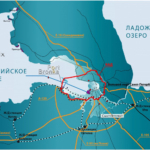 Порт Бронка - глубоководный порт Санк-Петербурга.