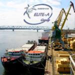 Бункеровка судов в порту Астрахань.