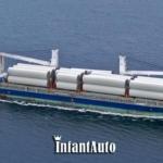 Перевозка негабаритных грузов на морском транспорте.