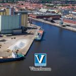 VÄNERHAMN - один из крупнейших портов Швеции, ежегодно обрабатывающий более 2,5 миллионов тонн грузов.