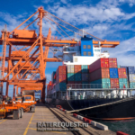 Контейнерные перевозки грузов из порта Пусан в порт Новороссийск.